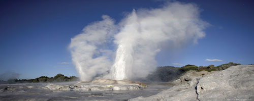 Geothermal action Rotorua