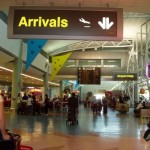 Auckland airport arrivals