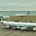 Auckland airport planes