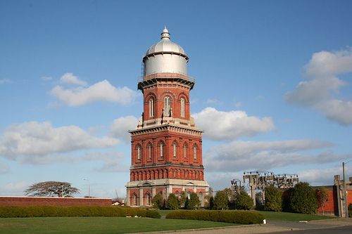 Invercargill's old brick Water Tower