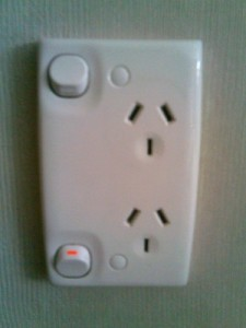 New Zealand electrical plug socket