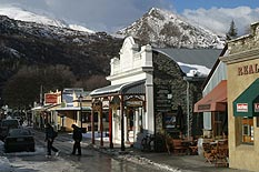 The main street of Arrowtown